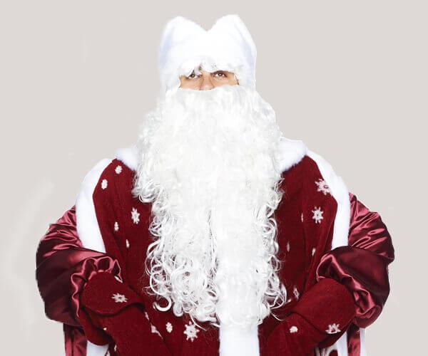 Костюм Деда Мороза Боярский Бордо.