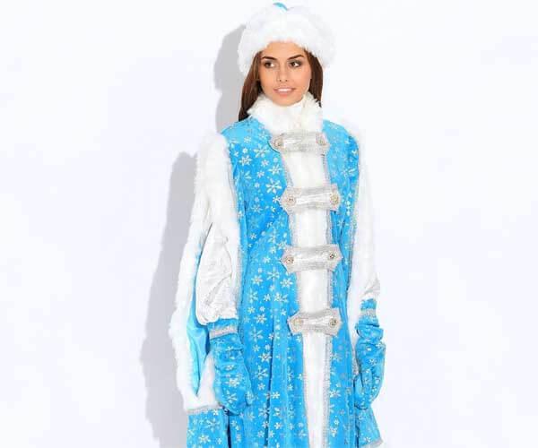 Костюм Снегурочки Боярский.