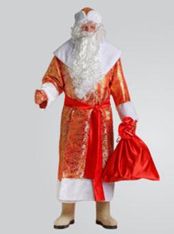 Костюм Деда Мороза Золотой Парчовый уфа