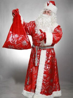 Костюм Деда Мороза с узорами уфа