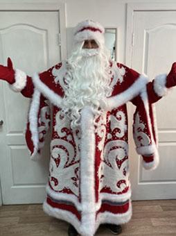 Костюм Деда Мороза ВИП ручной работы уфа
