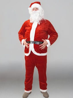 Костюм Санта-Клауса Эконом уфа